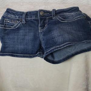 ZCO  embellished denim shorts